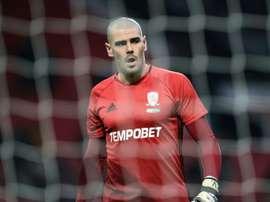 Valdés apontado ao Man. City. AFP
