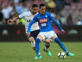 Callejon is being touted as a reinforcement for AC. AFP