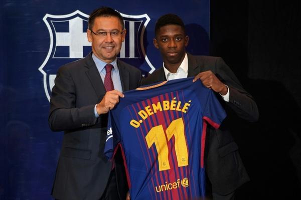 As transferências mais caras da história do futebol - Dembélé