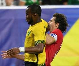 Jamaica se hizo con el triunfo. AFP