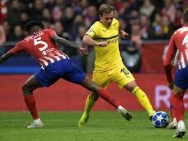 Mario Goetze says German league leaders Borussia Dortmund must bounce back. AFP