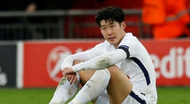Son's goal was not enough. AFP