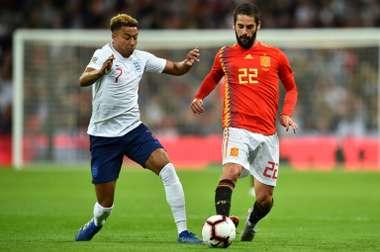 A España le faltó un jugador que asumiera el mando. AFP