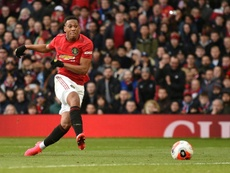 United won 2-0. AFP