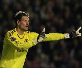 Begovic quitte Chelsea. AFP
