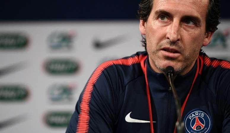 Emery desveló que Mbappé estuvo cerca del Madrid. AFP