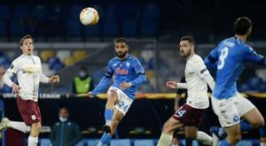 Napoli won 4-0. AFP