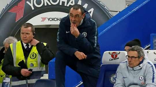 Chelsea est puni. AFP