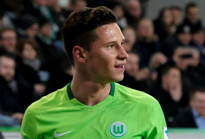 Midfielder Julian Draxler, 23, was on the market after a difficult first half to the season with a struggling Wolfsburg side