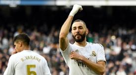 Le remplaçant de Benzema joue en Ligue 1. AFP
