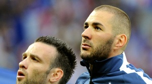 Real Madrid forward Benzema could face trial over sextape allegations. AFP