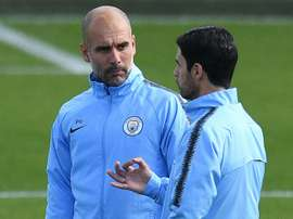 Guardiola backs Arteta as future Man City boss. AFP