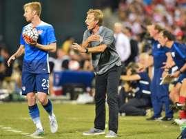 Los de Klinsmann salieron victoriosos de su primer ensayo previo a la Copa América. AFP