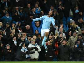 Sterling has scored a number of important goals for Manchester City this season. AFP
