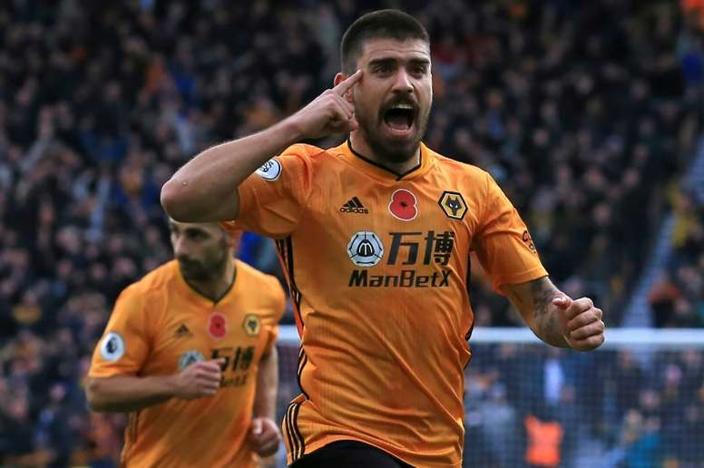 Neves is one of seven Portuguese players in Wolves' side. AFP