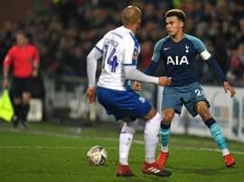 Alli vows Spurs 'won't get carried away again' as Son absence looms.