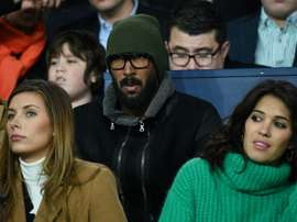 Anelka takes up new role with Lille. AFP