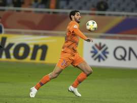 Marouane Fellaini scored a late winner for Shandong Luneng. AFP