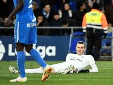 Gareth Bale could play against Unionistas Salamanca. AFP