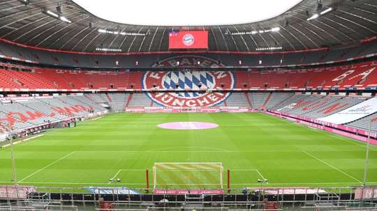 Bayern Munich's match with Schalke will be played without spectators. AFP