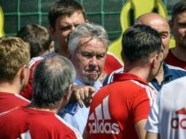 Hiddink is back in management. AFP