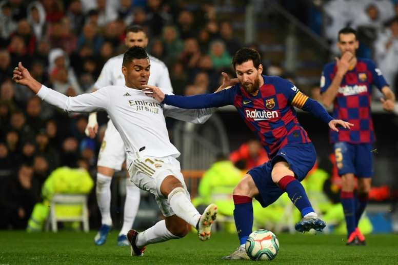 Rivaldo criticised Messi's teammates for leaving him with the heavy lifting. AFP