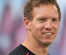 Julian Nagelsmann is not letting Atletico's situation affect his Leipzig team. AFP