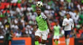 Odion Ighalo anotó el único gol del partido. AFP/Archivo