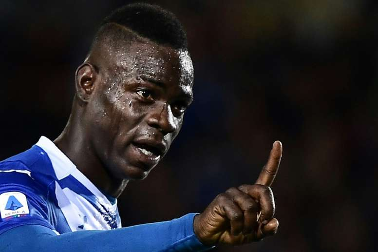Balotelli's Italy call-up will be on merit, not skin colour - Mancini. AFP