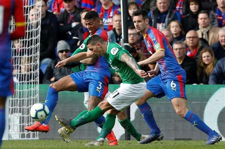 Brighton win against fierce rivals. AFP