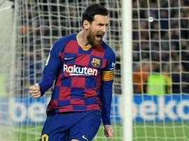 Messi falou das medidas através de suas redes sociais. AFP
