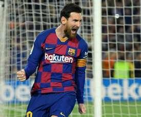 Et Messi ne prolonge toujours pas. AFP