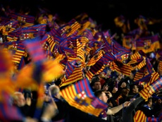 Chelsea fans were attacked with Batons in Barcelona. AFP