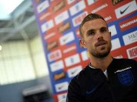 Henderson analizó la semifinal ante Croacia. AFP
