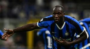 Lukaku a marqué son début avec l'Inter. AFP