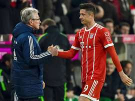 Two goals from Lewandowski and Muller seal all three points for Bayern. AFP