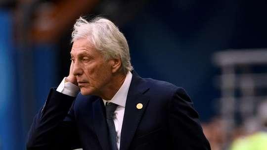 Jose Pekerman's Colombia. AFP