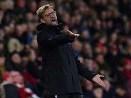 Klopp apostó por un buen número de suplentes y el Liverpool lo pagó. AFP
