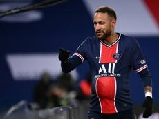 Neymar on target on 100th PSG appearance. AFP