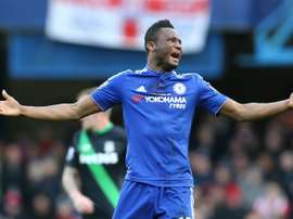 John Obi Mikel was at the centre of quite the transfer tug-of-war. AFP
