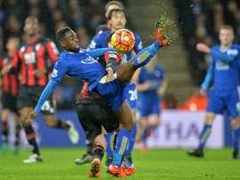 Nathan Dyer militó en el pasado curso en el Leicester City. AFP