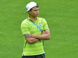 Thiago Silva, sobre pancada de Kramaric