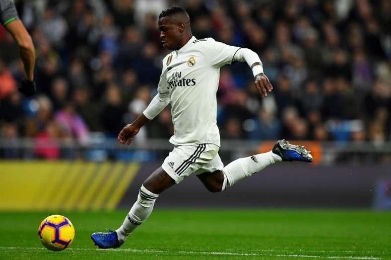 Vinicius quiere el '11' de Bale. AFP