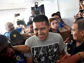 Riquelme beats Maradona as Boca Juniors elect new president. AFP