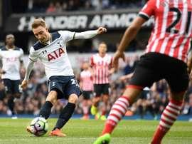 Tottenham garante a segunda posição. AFP