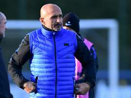Luciano Spalletti says the game with PSV is their most important game since he took over. AFP