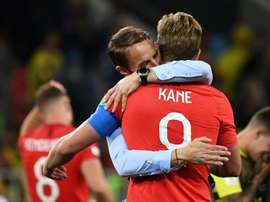 Harry Kane scored the resulting penalty regardless. AFP