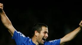Joe Cole fue el responsable de que Hazard acabase en el Chelsea. AFP/Archivo
