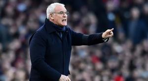 Ranieri will not leave Sampdoria. AFP
