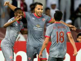 El Arabi double gives Al Duhail Champions League win. AFP